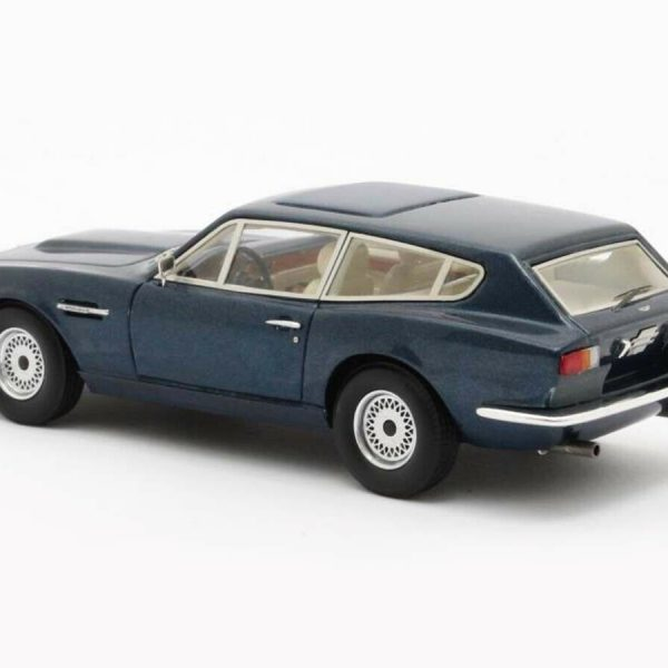 Aston Martin V8 Shooting Brake 1986 Blauw Metallic 1-43 Matrix Scale Models Limited 408 Pieces
