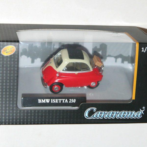 BMW Isetta 250 Rood / Wit 1:43 Cararama