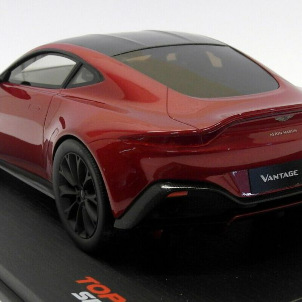 Aston Martin 2018 Vantage Hyper Red 1-18 Top Speed