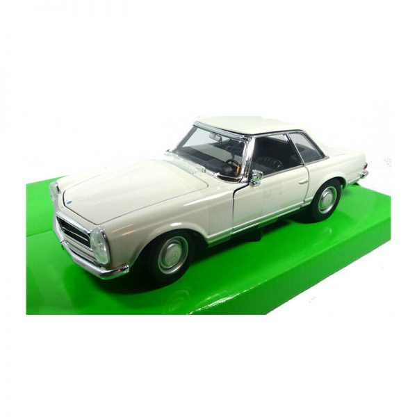 """Mercedes-Benz 230 SL """"Pagode"""" (1963) Wit 1-24 Welly"""
