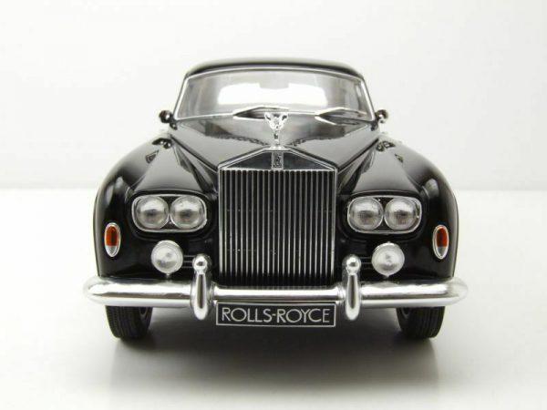 Rolls-Royce Silver Cloud III Flying Spur H.J.Mulliner Zwart 1-18 MCG Models