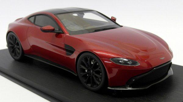 Aston Martin 2018 Vantage Hyper Red 1-18 Top Speed