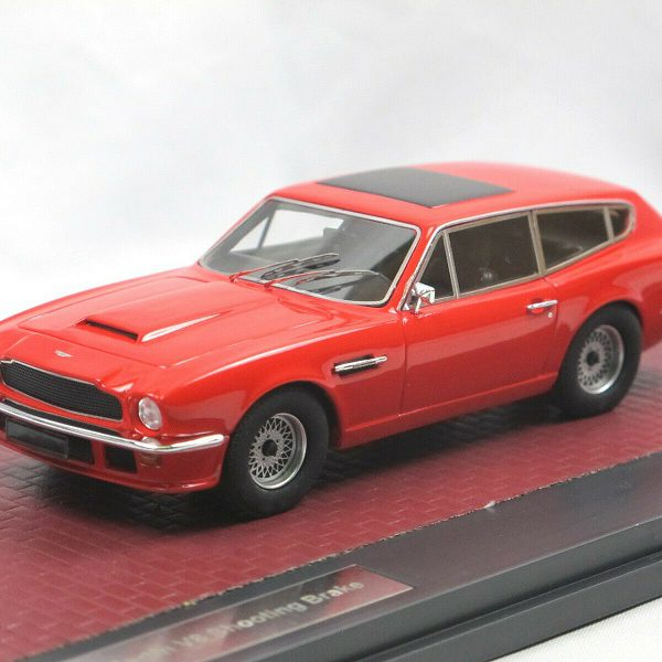 Aston Martin V8 Shooting Brake 1986 Rood 1-43 Matrix Scale Models Limited 408 Pieces