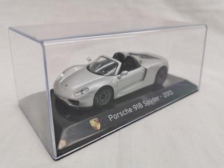Porsche 918 Spyder 2013 Grijs 1-43 Altaya Super Cars Collection