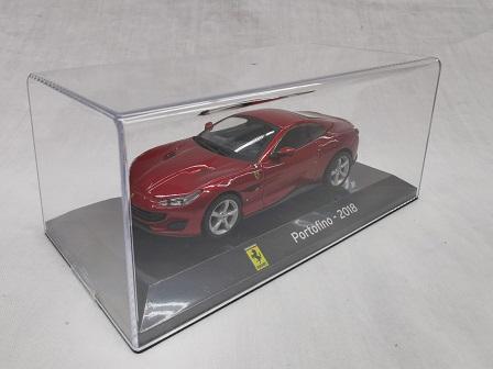 Ferrari Portofino 2018 Rood Metallic 1-43 Altaya Super Cars Collection