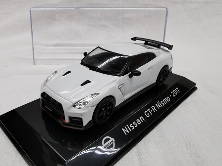 Nissan GT-R Nismo 2017 Wit 1-43 Altaya Super Cars Collection