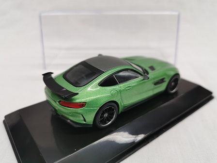 Mercedes-Benz AMG GT-R Coupe 2017 Groen 1-43 Altaya Super Cars Collection