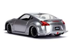 "Nissan 370Z ""Fast & Furious"" Zilver 1-32 Jada Toys"