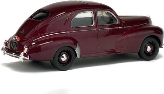 Peugeot 203 Berline, Bordeaux Rood 1-43 Solido