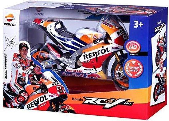 Honda RC213V Moto GP 2017 World Champion M. Marquez 1-10 Maisto