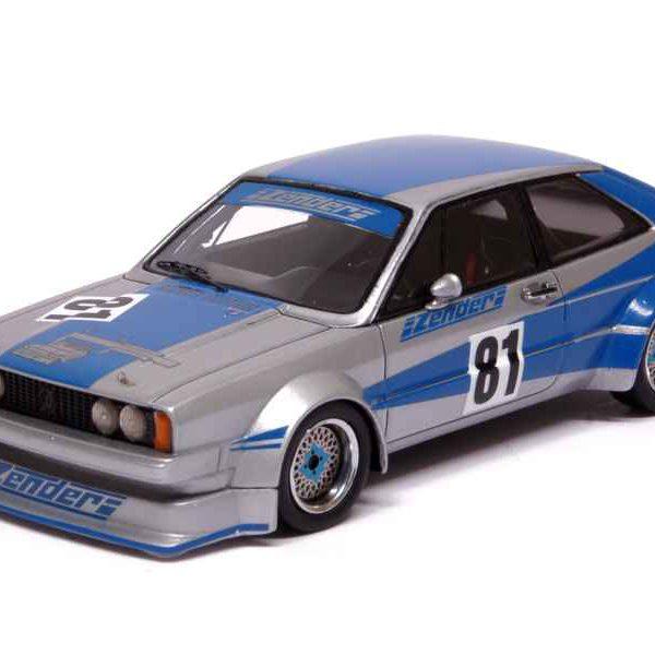 Volkswagen Scirocco I Gr.2 ZENDER - DRM 1978 1-43 Blauw/Grijs Neo Scale Models