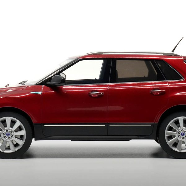Saab 9-4X SUV 2011 Rood Metallic 1-18 DNA Collectibles Limited 320 Pieces