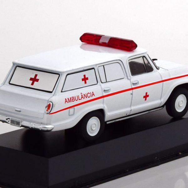 """Chevrolet Veraneio """"Ambulancia"""" Wit 1-43 Altaya"""