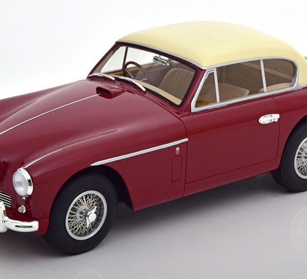 Aston Martin DB 2/4 MK2 FHC 1955 Donkerrood / Beige 1-18 Cult Scale Models