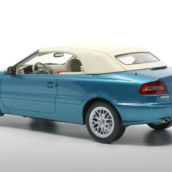 Volvo C70 Convertible 1997 Blauw Metallic 1-18 DNA Collectibles Limited 320 Pieces