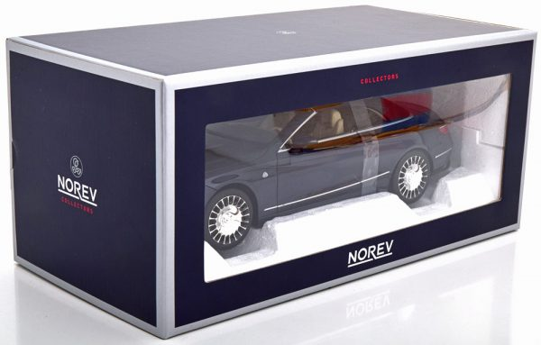 Mercedes-Benz Maybach S650 Cabrio 2018 Donkerblauw Metallic 1-18 Norev