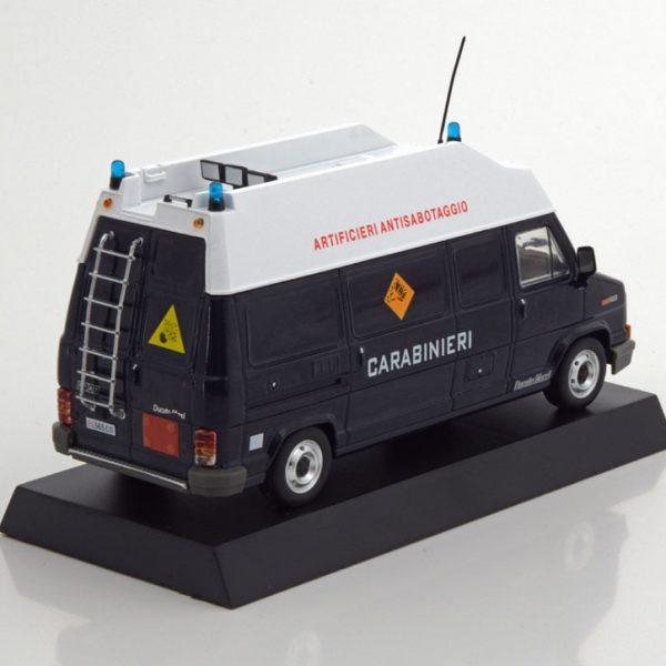 "Fiat Ducato Maxi Artificieri Antisabotaggio ""Carabinieri"" 1995 Blauw / Wit 1-43 Altaya"