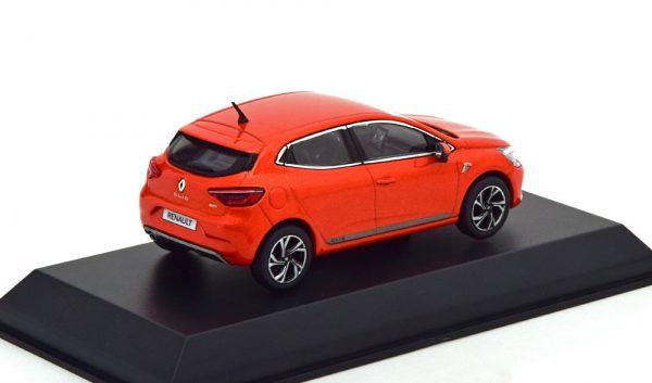 Renault Clio R.S.Line 2019 Valencia Orange Metallic 1-43 Norev