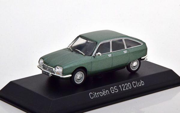 Citroen GS 1200 Club 1973 Groen Metallic 1-43 Norev
