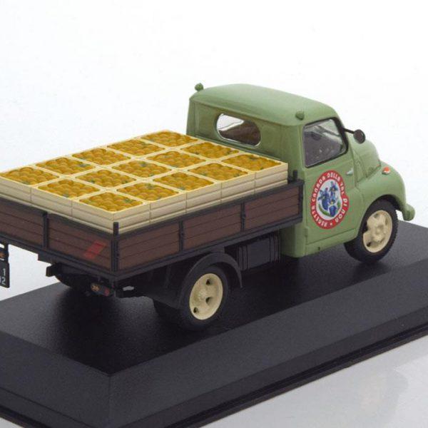 "Fiat 615 N ""Consorzio mele val di non"" 1953 Groen 1-43 Altaya"