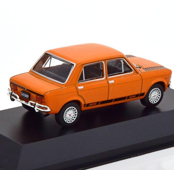 Fiat IAVA 128TV 1971 Oranje / Zwart 1-43 Altaya