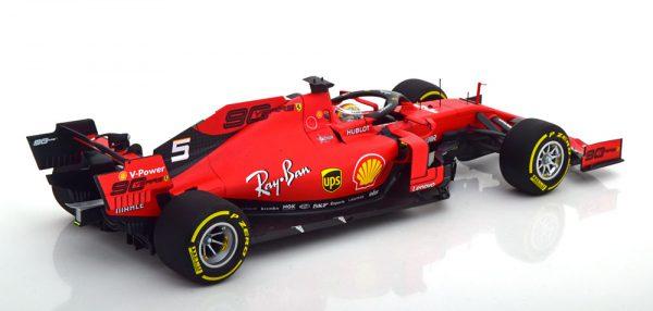 Ferrari SF90 Winner GP Belgium 2019 C.Leclerc 1-18 BBR Models