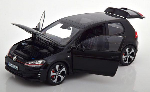 Volkswagen Golf VII GTI 2013 Zwart 1-18 Norev