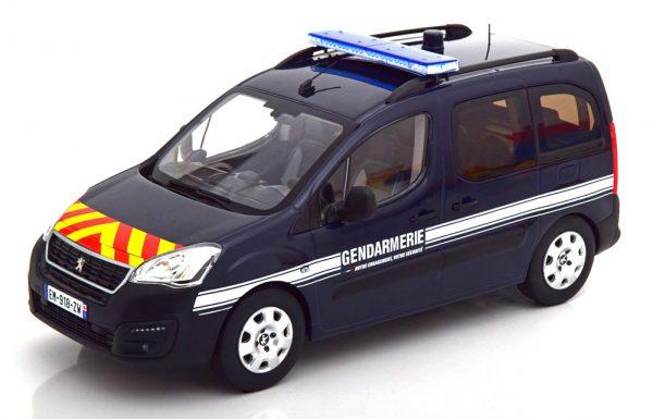 "Peugeot Partner ""Gendarmerie"" 2018 Blauw 1-18 Norev"