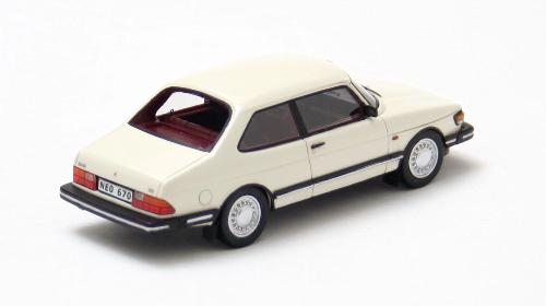 Saab 90 1985 Wit 1-43 Neo Scale Models