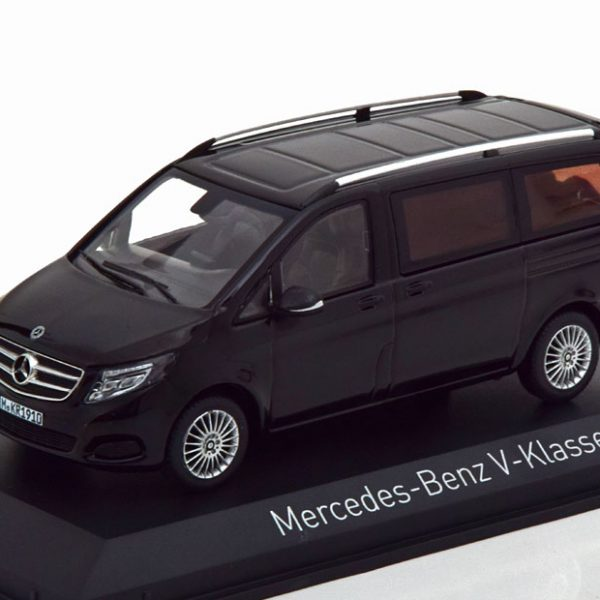 Mercedes-Benz V-Klasse 2015 Zwart 1-43 Norev