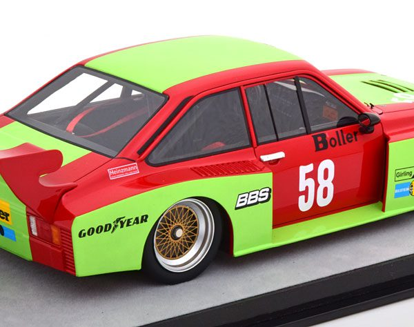 Ford Escort 2 RS Turbo No.58, DRM Zolder 1980 W.Boller 1-18 Technomodel Limited 70 Pieces