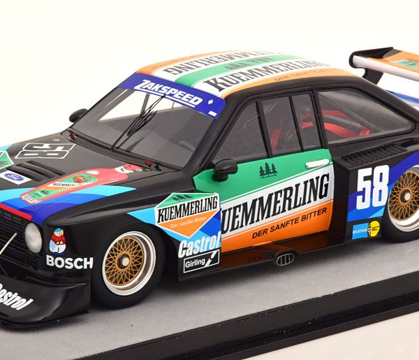 Ford Escort II RS Turbo No.58, Norisring 1980 W.Boller 1-18 Technomodel Limited 80 Pieces