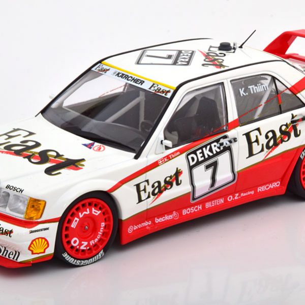 "Mercedes-Benz 190E 2.5-16 Evo 2 No.7, DTM 1991 ""East"" K.Thiim 1-18 Minichamps Limited 362 Pieces"