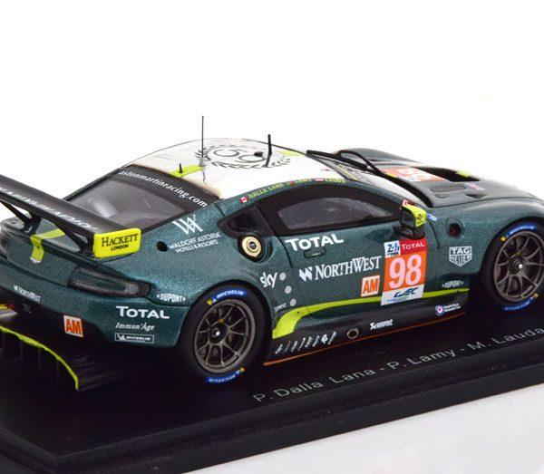 Aston Martin Vantage GTE No.98, 24Hrs Le Mans 2019 Dalla Lana/Lauda/Lamy 1-43 Spark