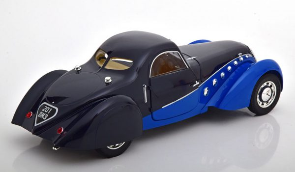 Peugeot 302 Darl`Mat Coupe 1937 Blauw / Donkerblauw 1-18 Norev