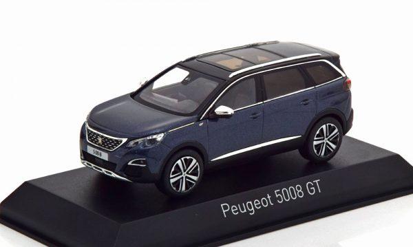 Peugeot 5008 GT 2016 Blauw Metallic 1-43 Norev