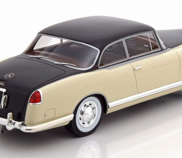 Mercedes-Benz 300 B Pininfarina 1955 Creme / Donkerbruin 1-18 BOS Models Limited 1000 Pieces