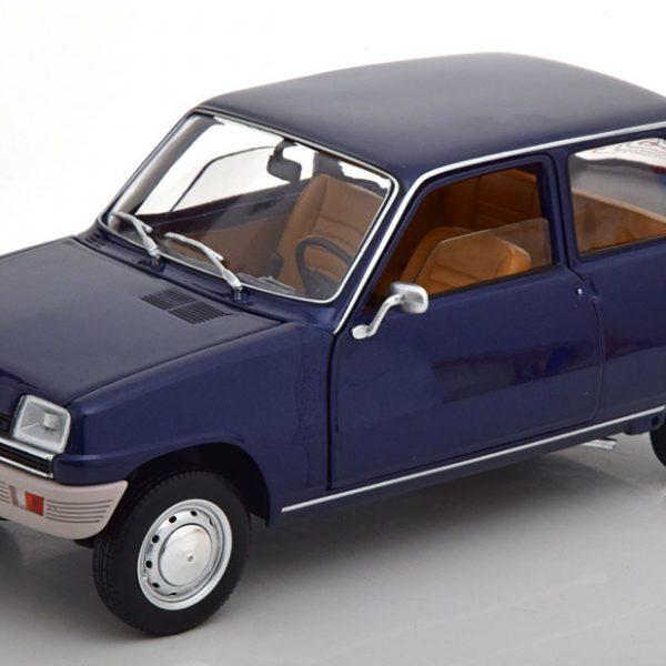 Renault 5 1972 Donkerblauw 1-18 Norev
