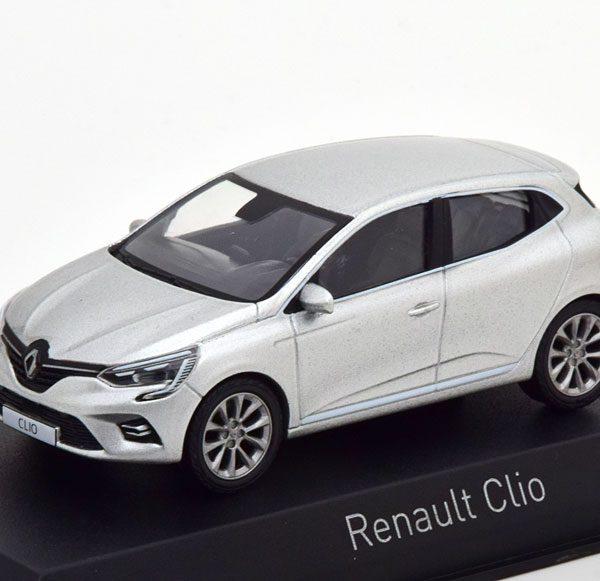 Renault Clio 2019 Zilver 1-43 Norev