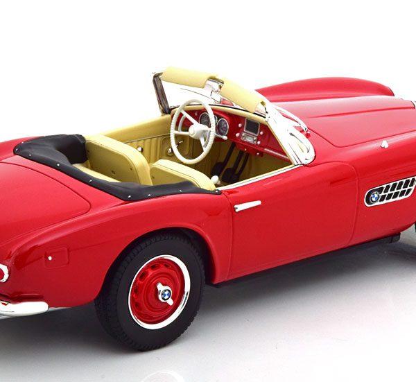BMW 507 Roadster 1956 Rood 1-18 Norev