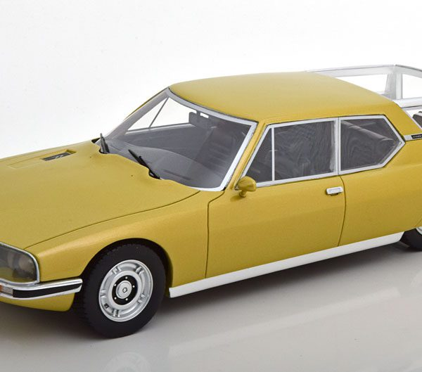 Citroen SM Shooting Brake 1970-1975 Goud Metallic 1-18 Schuco Pro R Limited 500 Pieces ( Resin )