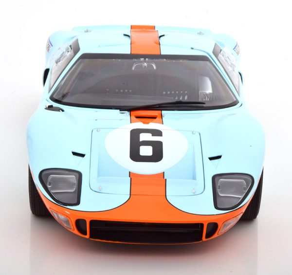 "Ford GT 40 MK I 1969 Le Mans Champion 1969 ""Gulf ""# 6 GMP / ACME 1-12 Limited 296 Pieces"