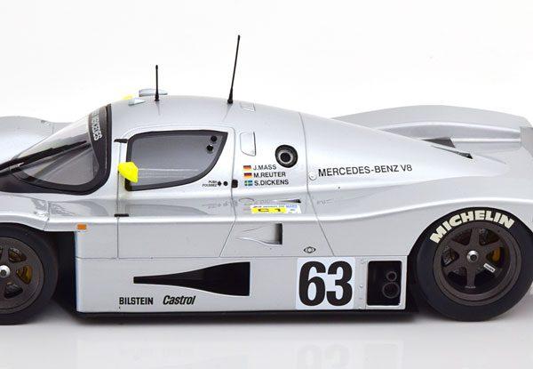 Mercedes-Benz Sauber C9 Nr# 63 Winner 24Hrs Le Mans 1989 Mass/Reuter/Dickens 1-18 Minichamps