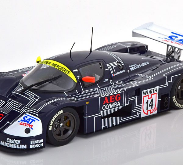 "Mercedes -Benz Sauber C9 Winner Supercup 1988 ""AEG"" Schlesser 1-18 Minichamps Limited 300 Pieces"