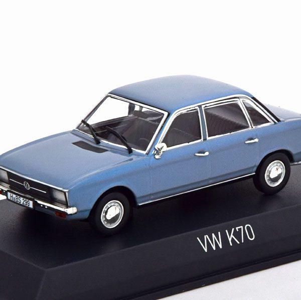 Volkswagen K70 1970 Blauw Metallic 1-43 Norev