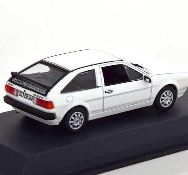 Volkswagen Scirocco GT 1981 Wit 1-43 Norev