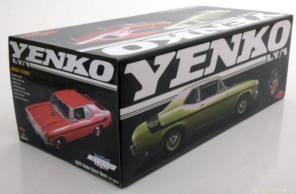 Chevrolet Nova LT/1 Yenko Deuce 1970 Rood / Zwart 1-18 GMP Limited 660 Pieces