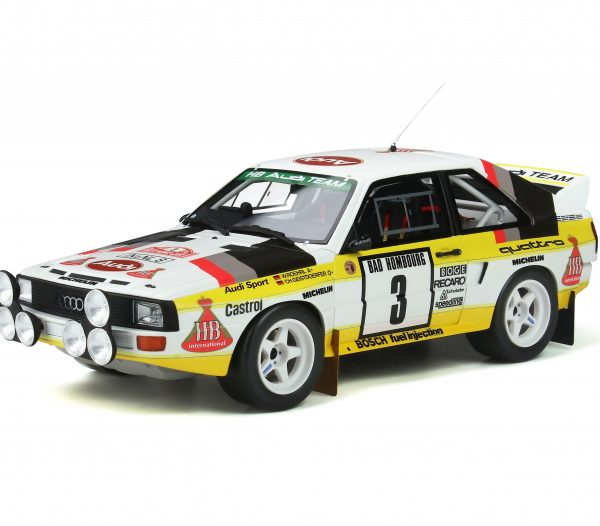 Audi Sport Quattro Nr# 3 Rallye 1985 Rally Monte Carlo 1-18 Ottomobile Limited 3000 Pieces