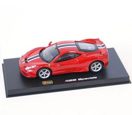 Ferrari 458 Speciale 1-43 Rood Burago Signature