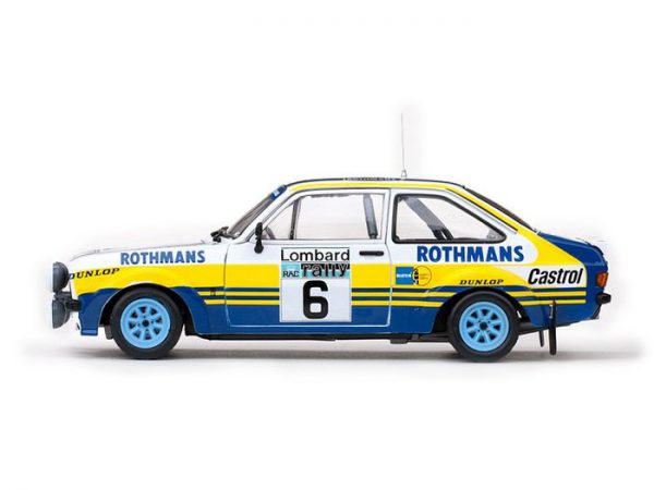 Ford Escort RS1800 #6 Rotmans Lombard RAC Rally 1979 Drivers: A.Vatanen/D.Richards 1-18 Sun Star Limited 1099 pcs.
